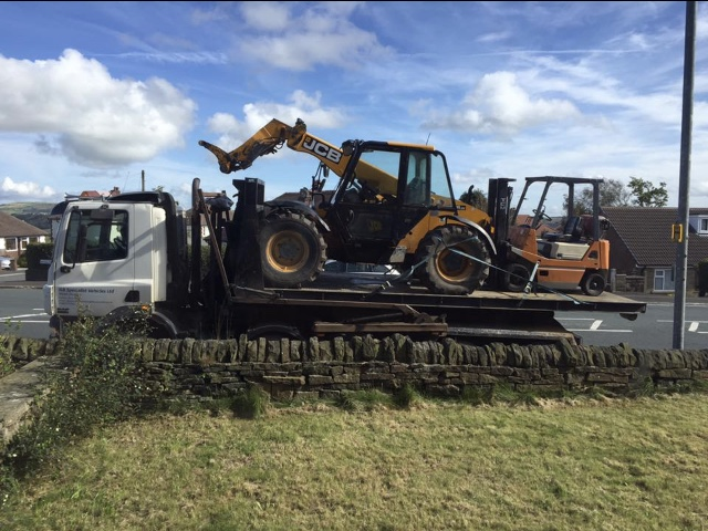 Plant machinery delivery